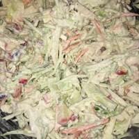 CtBF -Raw vegetable slaw with creamy garlic dressing