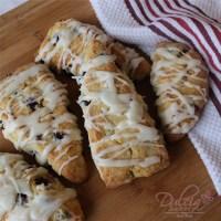 Best Blueberry Scones with Lemon Glaze Recipe