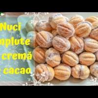 Nuci umplute cu cremă de cacao (rețeta copilăriei mele) - rețetă VIDEO și update 2018