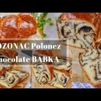 Cozonac polonez cu ciocolată (Chocolate Babka) - rețetă VIDEO update 2018