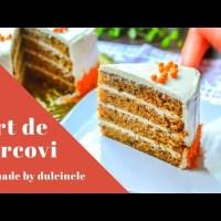 Tort de morcovi (rețetă simplă și rapidă) - rețetă VIDEO