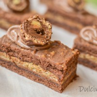 Prăjitură Ferrero Rocher - rețeta VIDEO