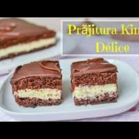 Prăjitură Kinder Délice, un deliciu - rețeta VIDEO