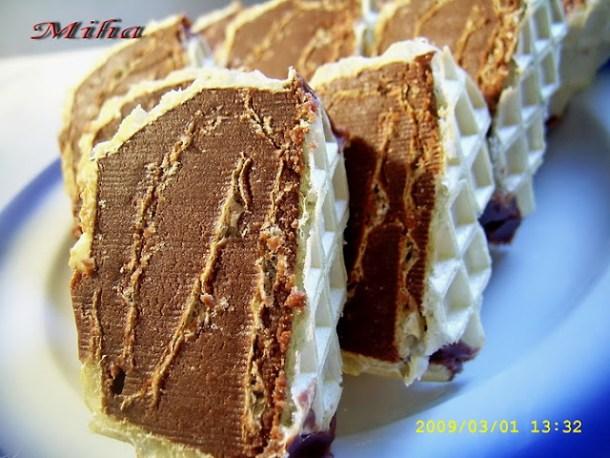 Rulada cu ciocolata de casa