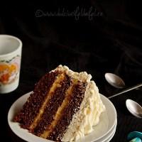 Tort cu crema caramel