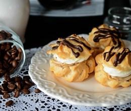 Choux a la creme cu crema de cafea preparata la Espressor Melitta Solo&Perfect Milk