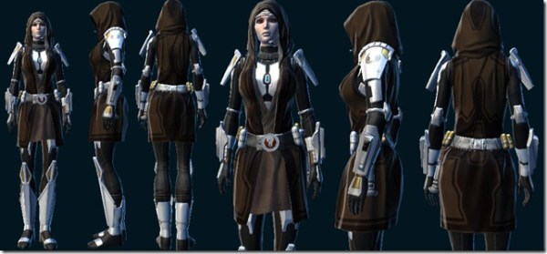 SWTOR Level 55 new gear models preview Dulfy