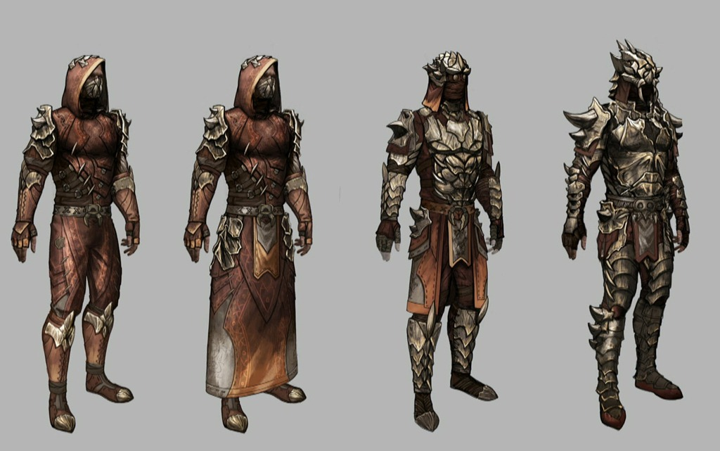 Knights Of The Nine Elder Scrolls Concept Art