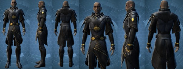 SWTOR Thexans Robe and Lightsaber in Collections Dulfy