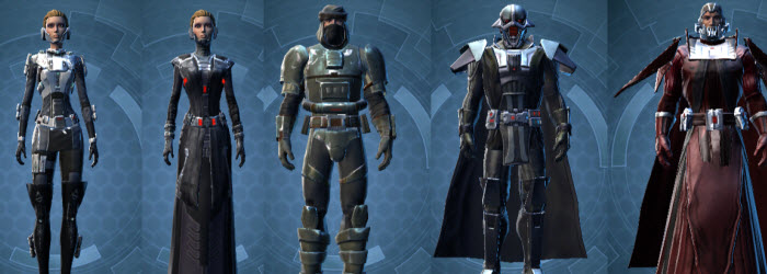 SWTOR Old Class Armor Sets Available On Fleet Vendor Dulfy