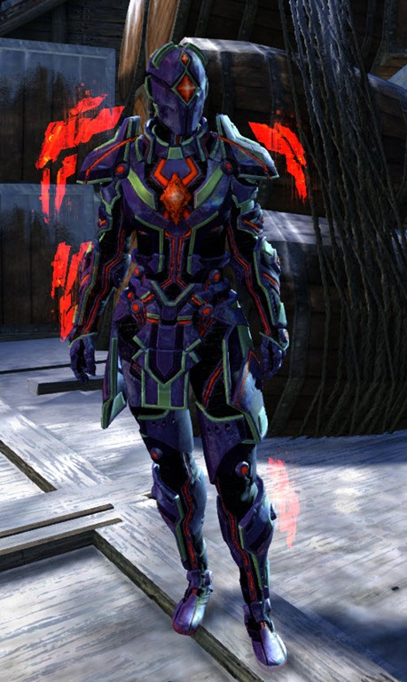 GW2 Gemstore Update Dynamics ExoSuit Outfit and Glider