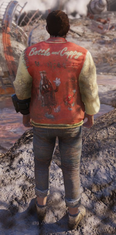 Fallout 76 Nuka Cola Outfit And Power Armor Paint Job