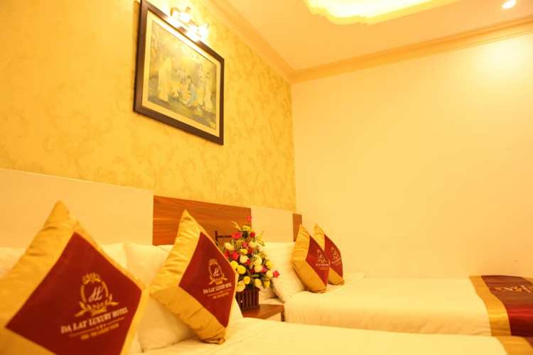 Phòng gia đình hotel Luxury Đà Lạt