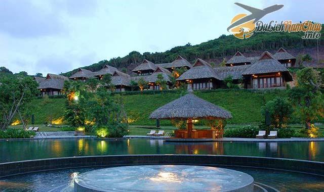 Khu resort cao cấp ở đảo Hòn Tằm Nha Trang