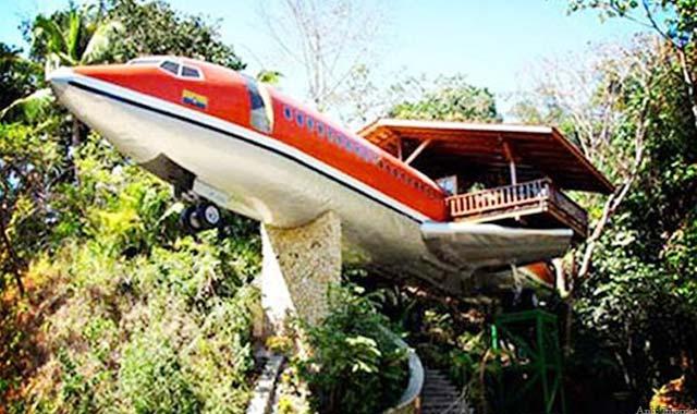Khách sạn máy bay Costa Rica là một trong 10 khách sạn độc đáo nhất thế giới