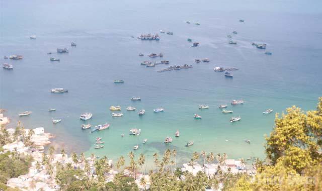 Toàn cảnh đảo Nam Du