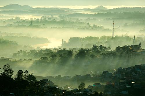 Đà Lạt – nét đẹp chốn bồng lai trong sương