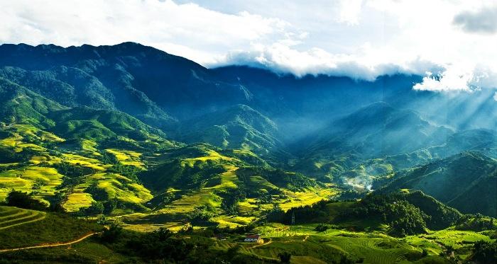 Những thung lũng đẹp như tranh họa bích ở Việt Nam