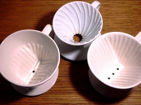 コーヒードリッパーの種類って多過ぎ。 結局どれ買えばいいの?