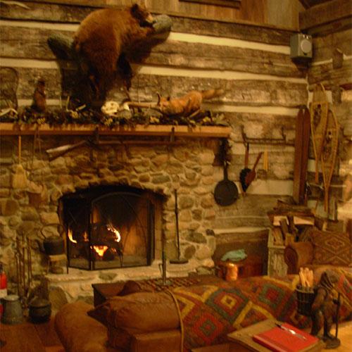 The Stone Cabin Inn Bed  Breakfast at Dulls Tree Farm