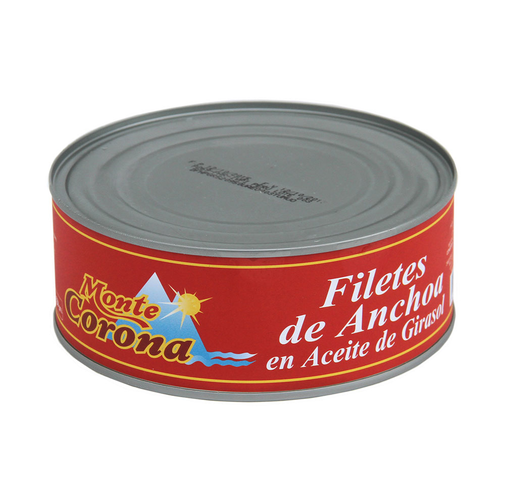 Filetes de Anchoa en Aceite Girasol 950Gr