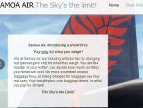 Samoa Air: Lose Weight And Pay Less!