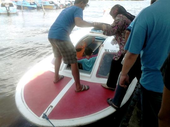 speedboat to Labuan