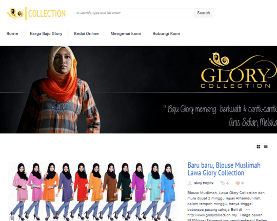 Glory Collection