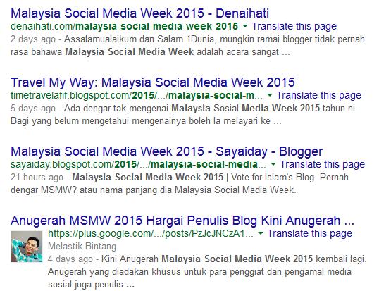 MSMW bloggers