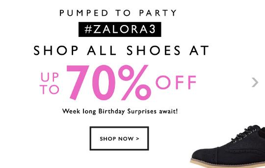 discount at Zalora Malaysia