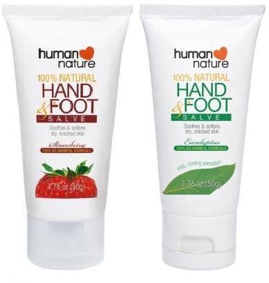 Human Nature 100% Natural Hand & Foot Salve