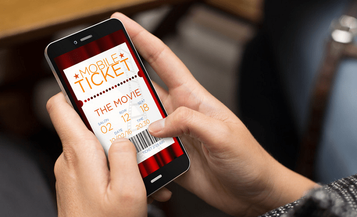 Online movie tickets