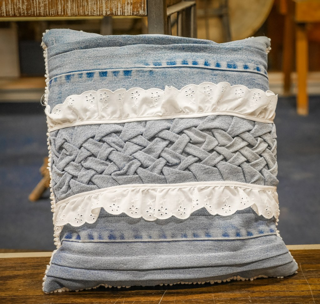 Canadian Smocked Pillow