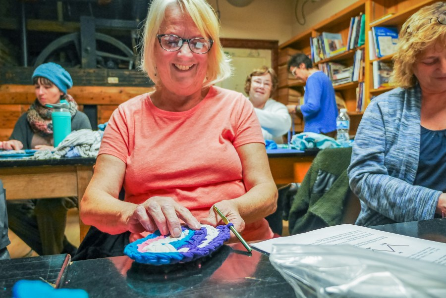 Crocheted Rugs at the Duluth Folk School