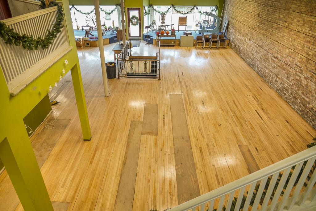 Main Floor Space