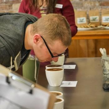 Coffee Cupping at the Duluth Folk School