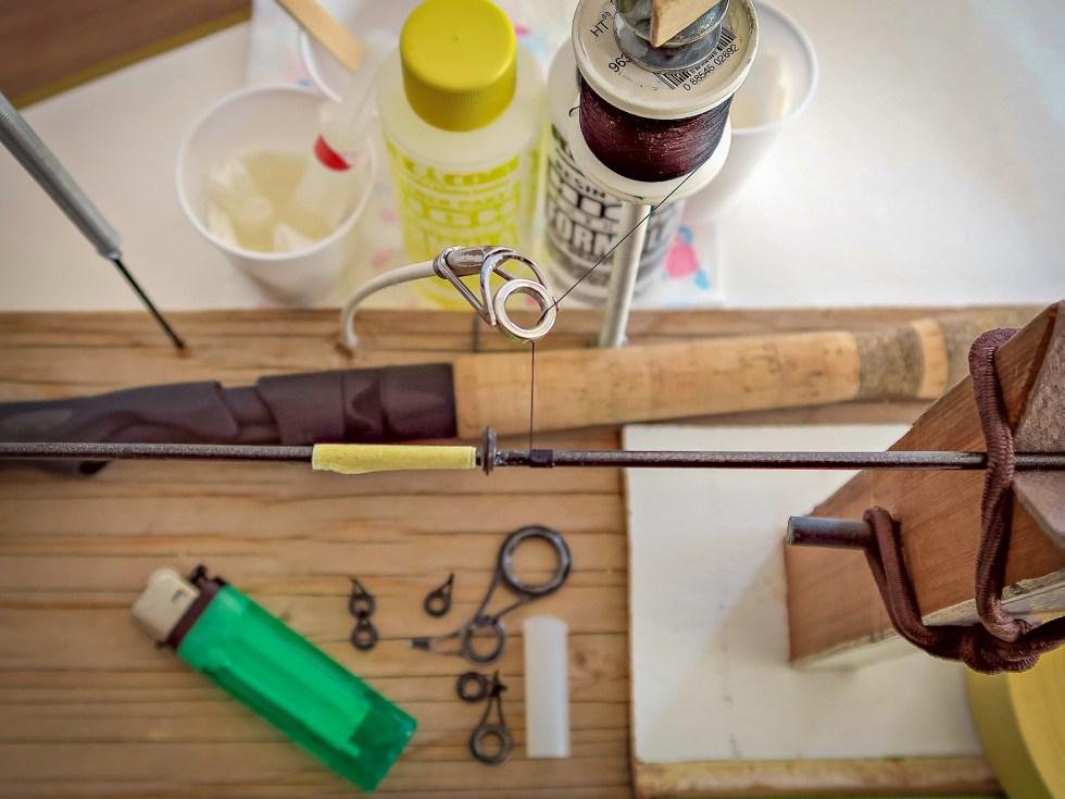 Repair Fishing Rod at the Duluth Folk School
