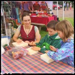 Laura Berlage at the Duluth Folk School