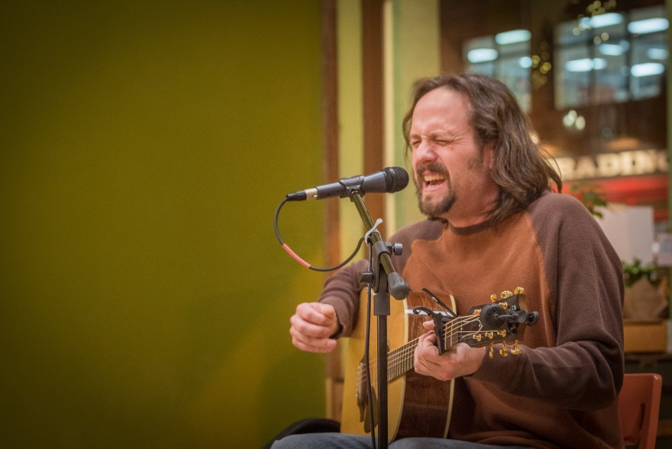 Ty Johnson at the Duluth Folk School