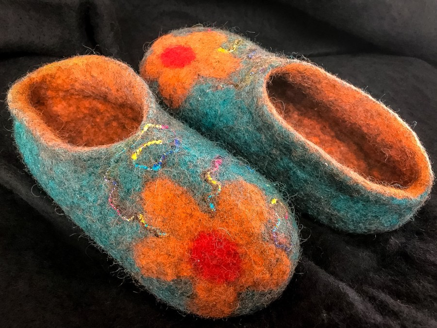 Felted Slippers at the Duluth Folk School