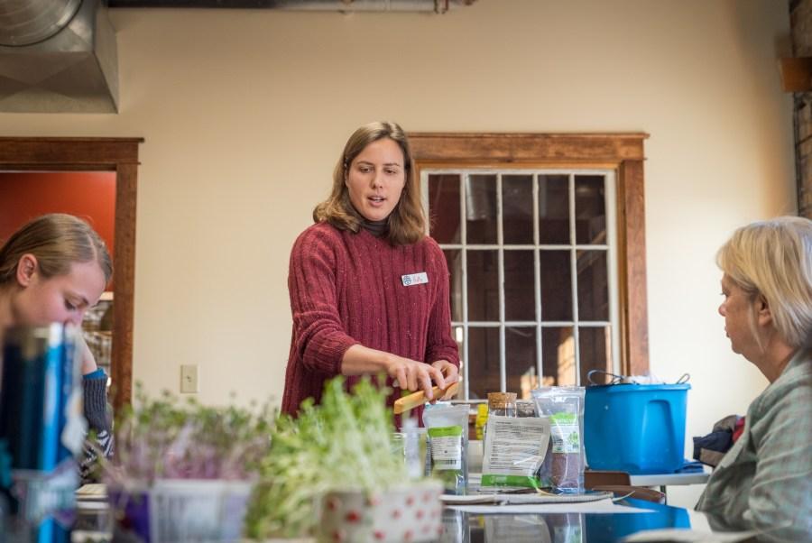 Holly Wolfe at the Duluth Folk School