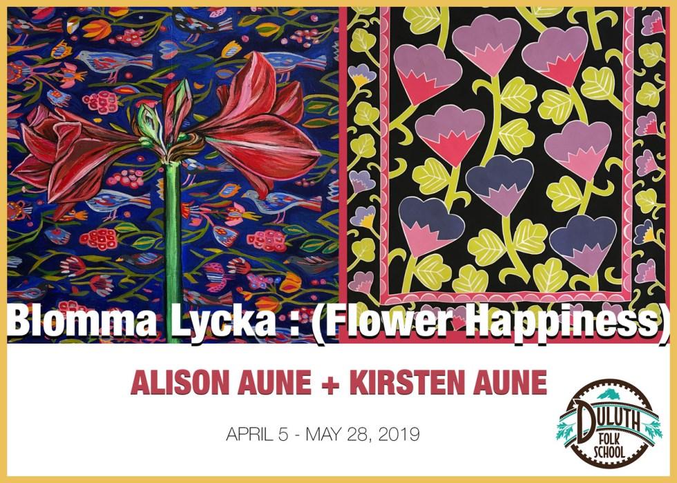 Blomma Lycka at the Duluth Folk School