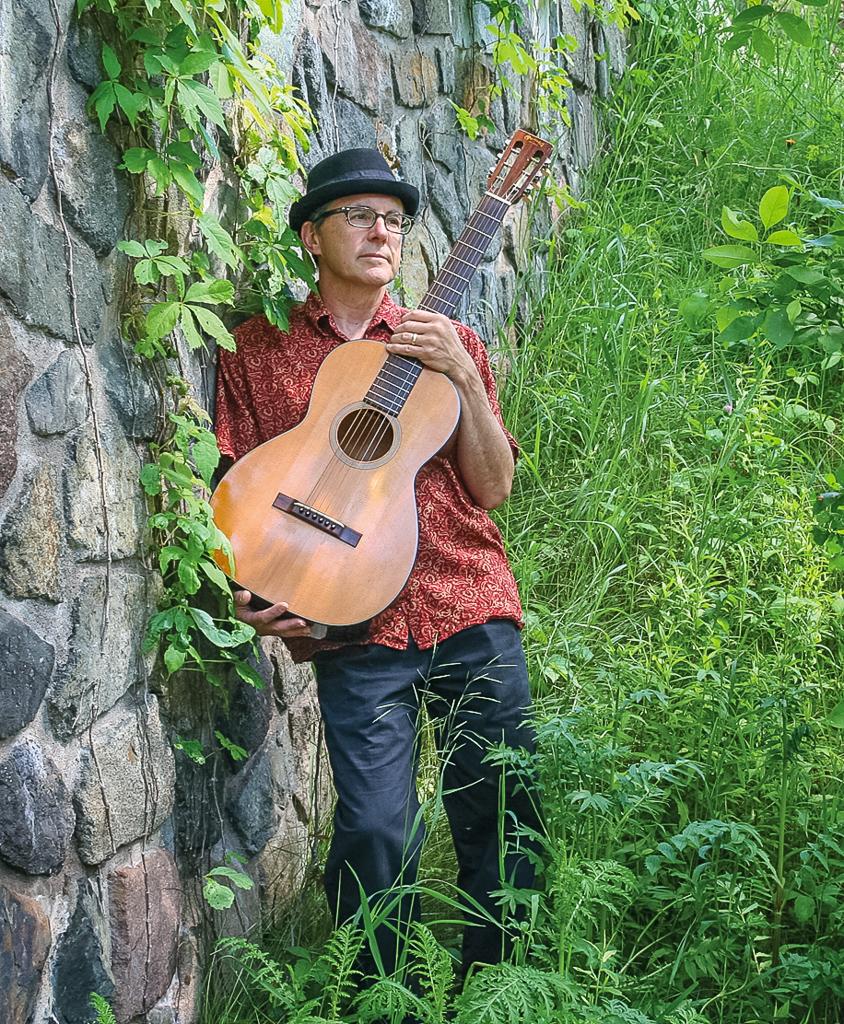 Greg Tiburzi at the Duluth Folk School