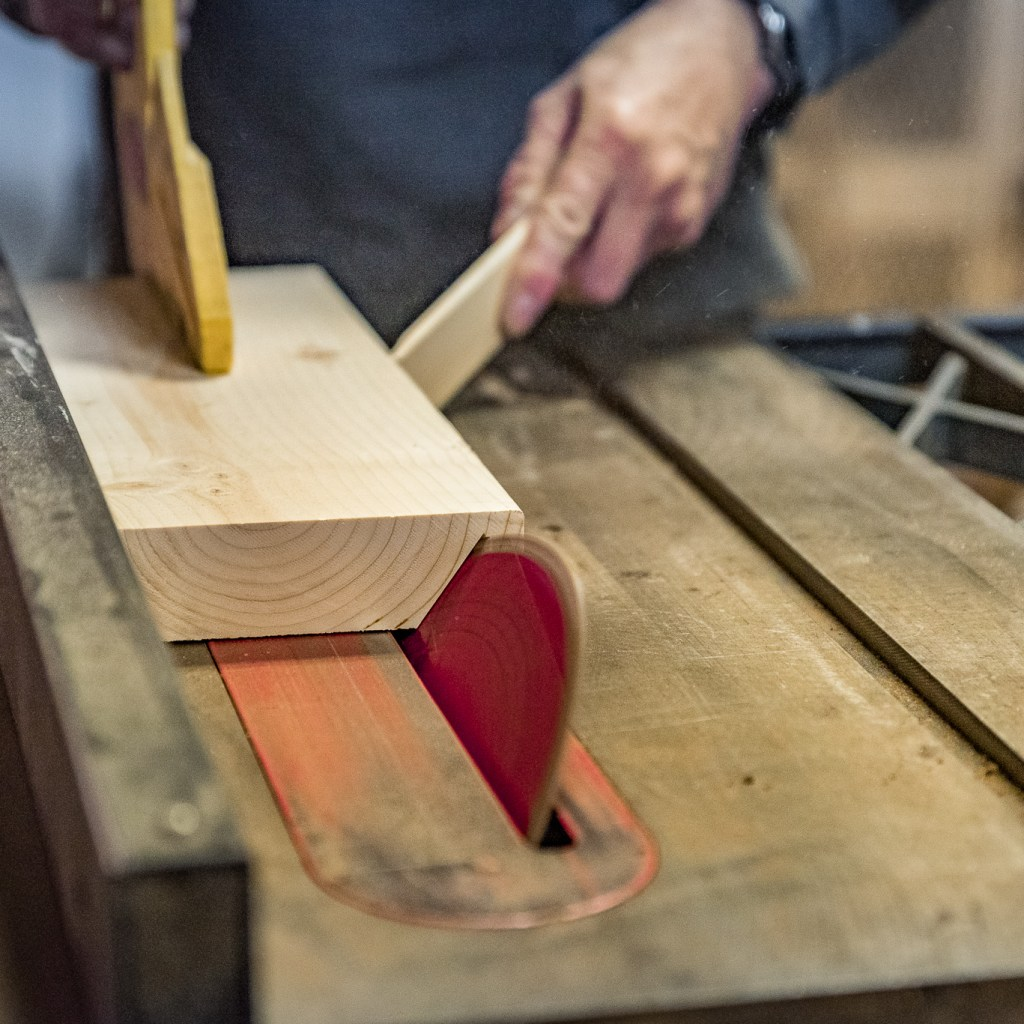 Table Saw Class at the Duluth Folk School
