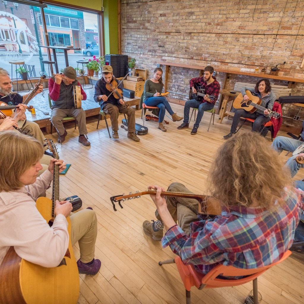 Old Time Music Jam Session at the Duluth Folk School