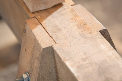 Timber Framed Sawhorse