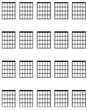 Large guitar chord diagram sheet  Dave Lockwood Guitar Studio