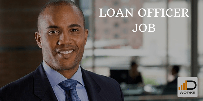 LOAN OFFICER JOB
