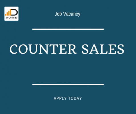 Apply for the Counter Sales Representative role if you have experience working in the Automotive industry, for a chance to grow in your career.