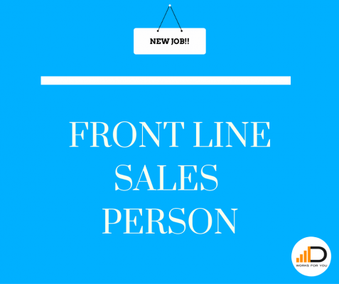 Apply for the Front Line Sales Person job